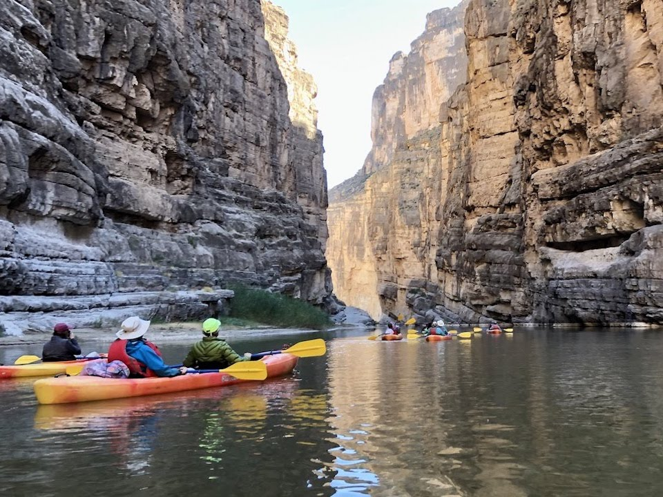 A group of women traveling with Adventures in Good Company in Big Bend