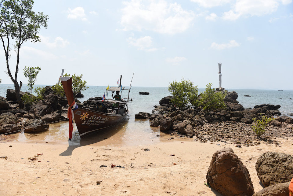 It takes a bus and two boats to get to the sleepy island of Koh Jum
